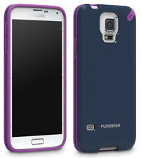 PUREGEAR SLIM SHELL BLUE/PURPLE CASE HARD COVER FOR SAMSUNG GALAXY S5
