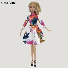 Toy Clothes For Barbie Dolls Short Dresses For Barbie Dollhouse Doll Clothing