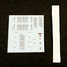 1/43 F1 Decals 2007 Ferrari F2007 Barcode (Hot Wheels Elite) - Museum Collection