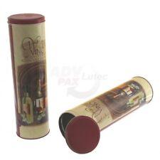 Geschenkverpackung für Weinflasche, Präsentbox, Blechdose bedruckt