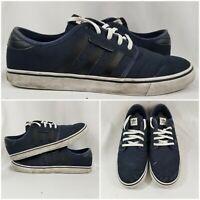 adidas Skateboarding Seeley (D68868) Casual Shoe Navy Men's Size 10.5
