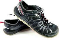 Merrell Womens Crush Glove Barefoot Training Running Shoes Black J57326 Mesh 9 M