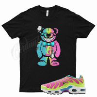Black TEDDY T Shirt for Nike Air Max Plus Volt Pink Blast Barely Vapormax Teal