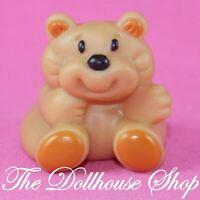 Fisher Price Loving Family Dream Dollhouse Miniature Brown Rumple Bear Nursery