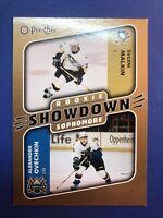 2006-07 O-Pee-Chee Rookie Showdown #624 Evgeni Malkin RC Alex Ovechkin Insert