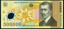 500000 Lei 2000 ( 500,000 ) Ghizari - ROMANIA - Polymer UNC from sheet P-115b