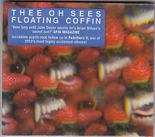 Thee Oh Sees Floating Coffin - CD (FREE107 Freeform Patterns Brand New Sealed
