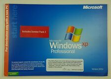 Microsoft Windows XP Professional Pro CD SB Vollversion Englisch English