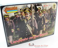 Strelets Set 168 - Landwehr on the March - Napoleonic Prussians - 1/72 Scale