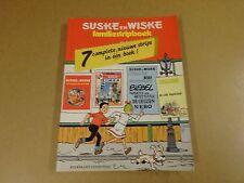 STRIP / SUSKE EN WISKE FAMILIESTRIPBOEK - 7 COMPLETE, NIEUWE STRIPS IN 1 BOEK !