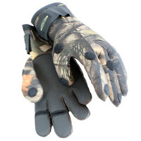 Dirt Boot® Neoprene Fishing Camo Gloves Folding Fingers Shooting Hunting M L XL