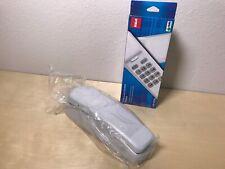 RCA 1103-1WTGA Standard Phone - White - Corded Slimline Telephone #PM37