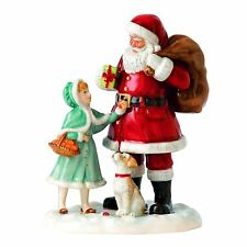 Royal Doulton  A Gift for Santa Christmas Figure of the Year 2015