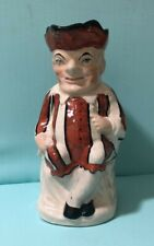 Antique STAFFORDSHIRE PUNCH Toby Jug 10 inch