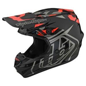 TLD; GP Helmet; Overload Camo Black/Rocket Red; 103253024