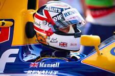 Williams F1 Nigel Mansell Motorsport promo poster