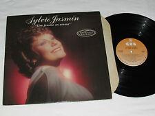 SYLVIE JASMIN Une Femme En Amour LP 1980 CBS Records Canada Vinyl VG Un Artiste