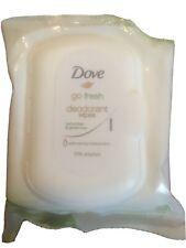 Dove Go Fresh Woman Deo. Wipes 25 Towelles Cucumber+ Green Tea
