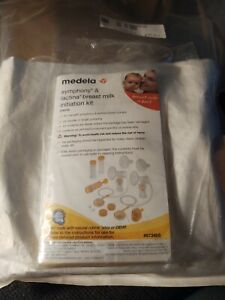 Breast Pump Kit for Medela Pump in Style Advanced Breastpump. Includes 2 Tubing,