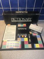 Vintage Pictionary Board Game By Parker Games 1987 Edition Just Add Paper