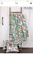 NWT Matilda Jane Joanna Gaines Flower Bed Twin Comforter Quilt 1 Sham 2 Pc Set