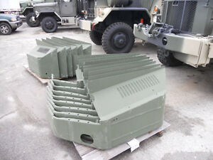 Military Surplus NOS Passenger Side Fender for M35A2 M35A3 w/ Non-Skid Surface