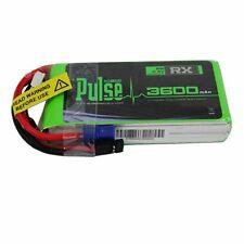 Pulse Lipo Battery 3600mAh 7.4V 2S (Receiver Battery) Ultra Power Series