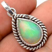 Natural Ethiopian Opal 925 Sterling Silver Handmade Pendant Jewelry SDP59786