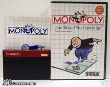 Monopoly (Master System) COMPLETE IN BOX!!!