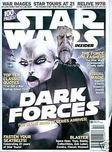 STAR WARS INSIDER #104  100 Pages - Newsstand Cover       / 2008 Titan Magazines