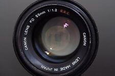 Canon FD 55 mm F/1.2 S.S.C Lens