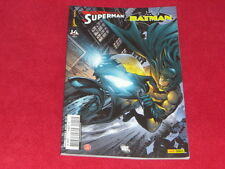 SUPERMAN & BATMAN 14 PANINI COMICS TRES BON ETAT