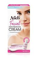 Nad's Facial Hair Removal Cream Depilatory For Delicate Face Areas  0.99 Oz