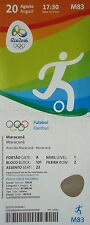 TICKET 20.8.2016 Olympic Games Football Final Mens Brazil Brasil - Germany M83