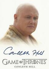 "Game of Thrones Season 3 - Conleth Hill ""Lord Varys"" Autograph Card"