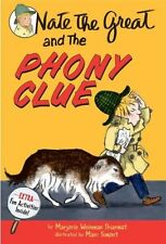 Nate the Great and the Phony Clue-ExLibrary