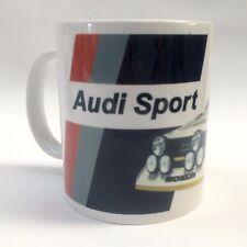 Classic Audi Sport Quattro S1 Group B Rally Car Mug Birthday Fathers Day Gift