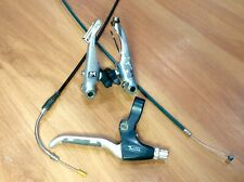 New listing Shimano silver V-brake BR-M600 + Tektro right Lever + Cabling - bianchi grizzly