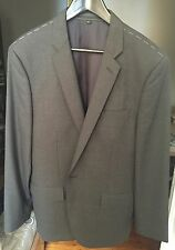 J Crew Ludlow Single Button Suit Jacket in Italian Wool Sz 42R Style 03744l/Gray