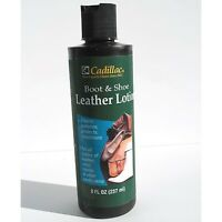 Cadillac Boot & Shoe Care Leather Conditioner Protector 8 oz