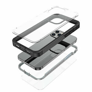 Hybrid Waterproof Shockproof Clear Case For iPhone 12 Pro Max 11 XS XR 8 7 Plus
