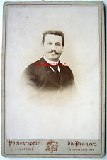 CABINET PHOTO CASTANIÉ à AURILLAC PORTAIT JOSEPH GARDY k357
