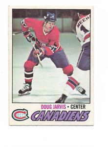 1977-78 O-Pee-Chee #139 Doug Jarvis Montreal Canadiens