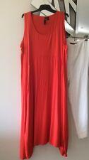 TS TAKING SHAPE Red Orange Sleeveless Stretch Tunic Tank Dress BNWOT S