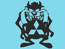Adhesivo con el logotipo de lado Taz MITSUBISHI PARACHOQUES POSTERIOR Ventana Pegatina Ventana de Coche DYI T32