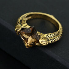 Harry Potter Horcrux Resurrection Stone / Death Ring Deathly Hallows Movie Brown