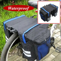 Cycling Bike Bicycle Rear Rack Seat Saddle Storage Pannier Pouch Bag Waterproof