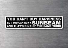 By A Sunbeam sticker 7yr water & fade proof vinyl sticker car classic