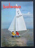 Revue magazine BATEAUX n° 98 juillet 1966 Concarneau Semaine de La Rochelle
