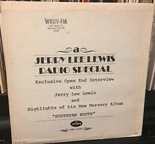 JERRY LEE LEWIS RADIO SHOW SPECIAL dj INTERVIEW + songs for Southern Roots lp